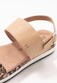 JETTE - Platform sandals - rose - 2
