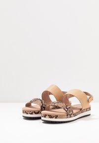 JETTE - Platform sandals - rose - 4