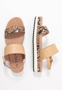 JETTE - Platform sandals - rose - 3