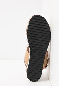 JETTE - Platform sandals - rose - 6