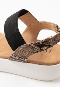 JETTE - Platform sandals - silver/rose - 2