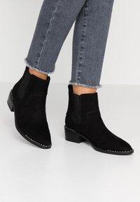 JETTE - Ankle boots - black - 0