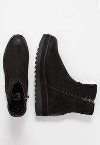 JETTE - Kotníkové boty na platformě - black - 1