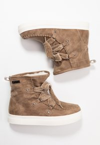 JETTE - Lace-up ankle boots - beige - 3