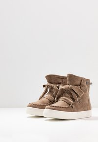 JETTE - Lace-up ankle boots - beige - 4