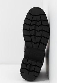 JETTE - Platform ankle boots - grey - 6