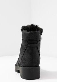 JETTE - Platform ankle boots - black - 5