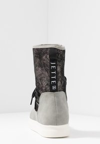 JETTE - Støvletter - grey/pewter - 5