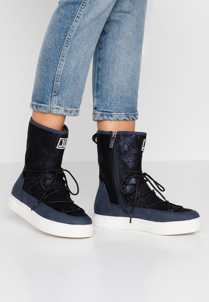 JETTE - Classic ankle boots - navy
