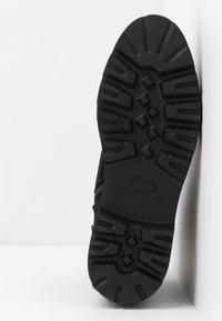 JETTE - Kotníkové boty na platformě - black - 6