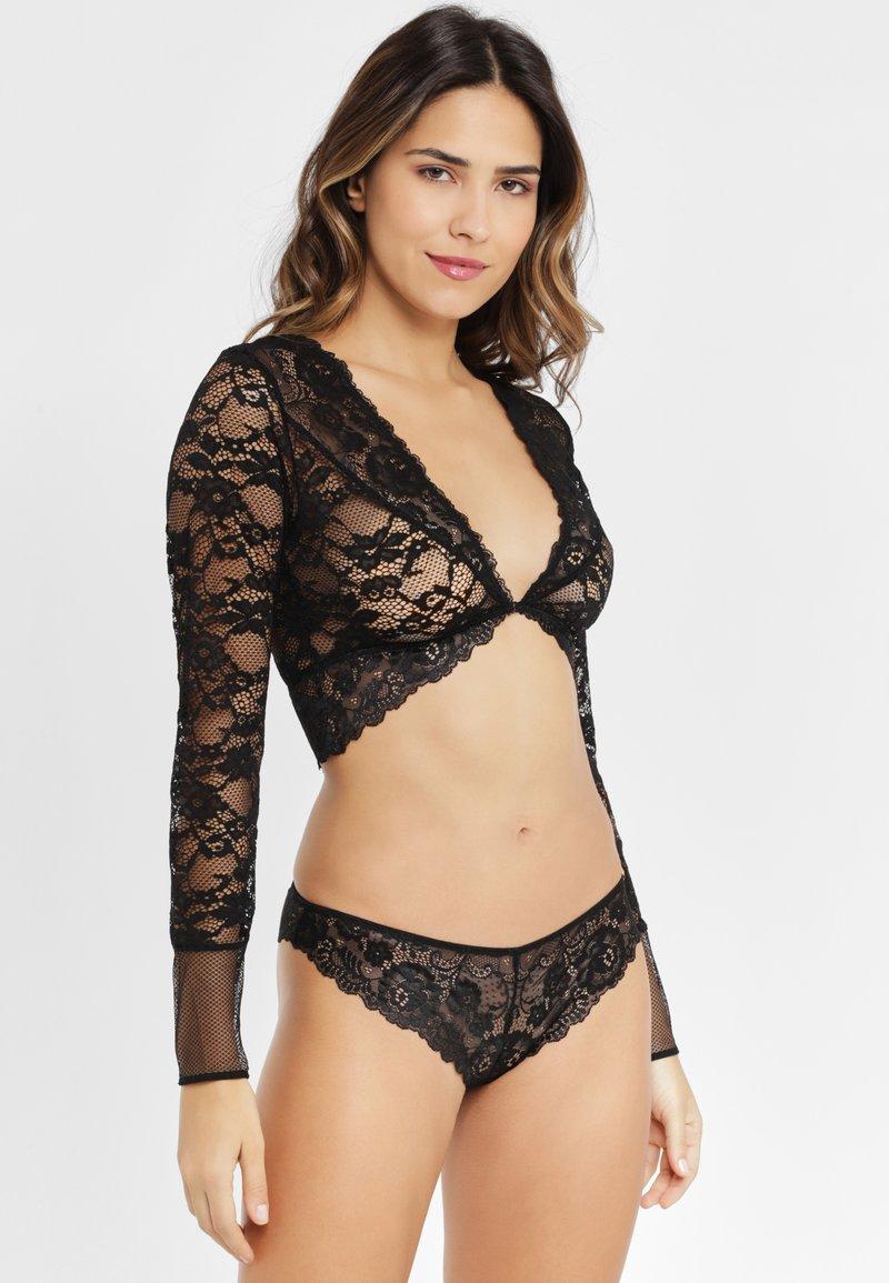 JETTE - SET - Pyjama set - black