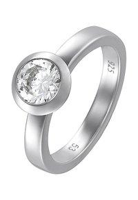 JETTE - BASIC - Ring - silber - 0