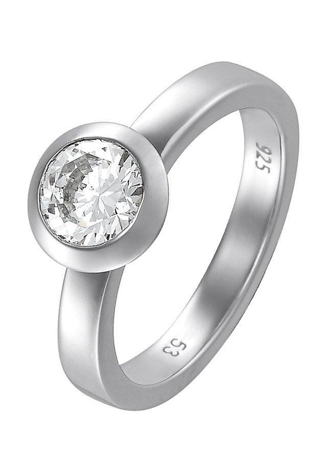 BASIC - Ring - silber