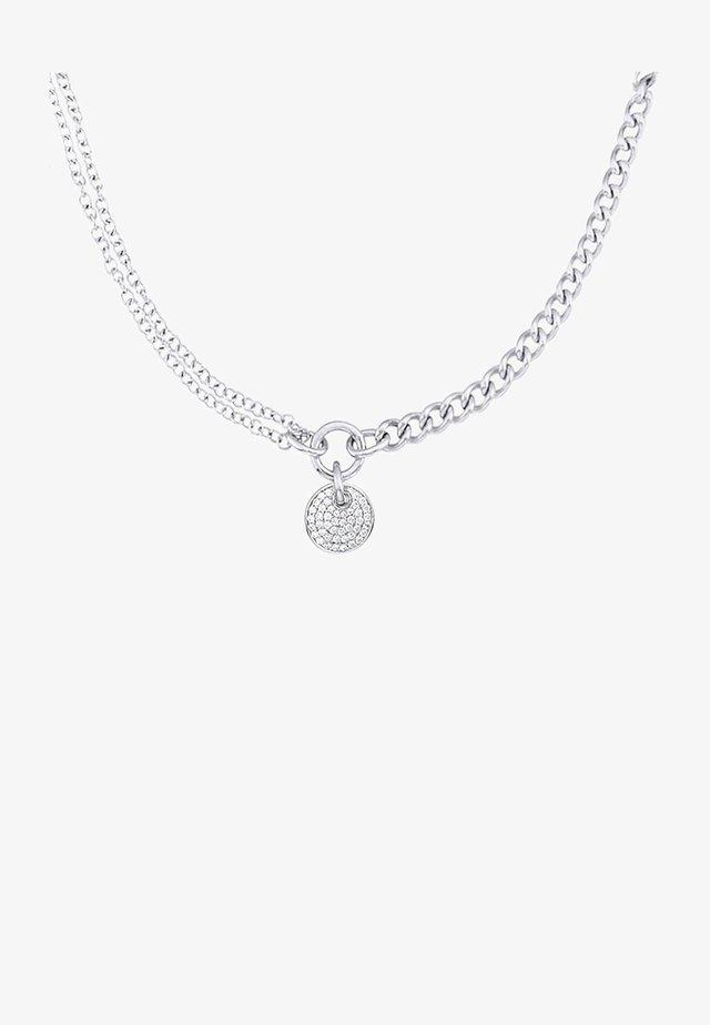 SILVER CHAIN REACTION    - Halskette - silver coloured