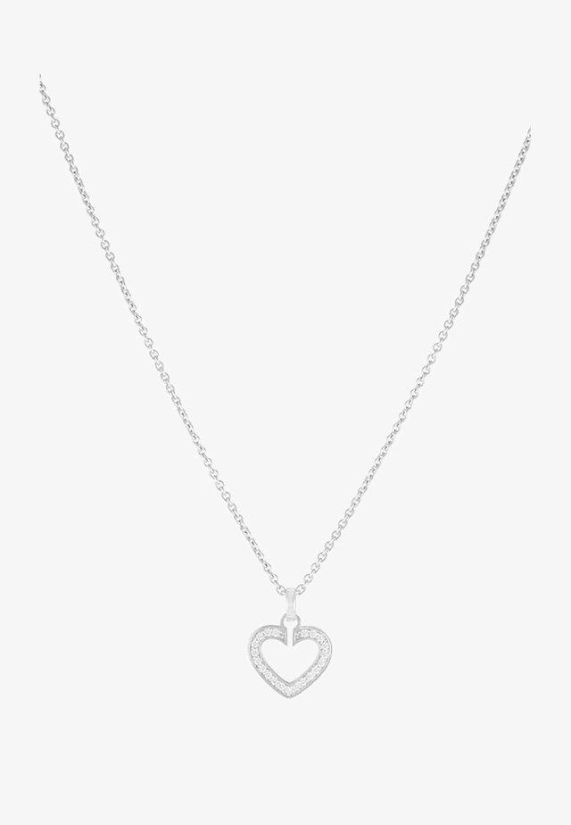 SACRED HEART - Halskette - silver-colored