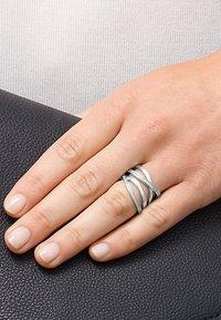 JETTE - JETTE SILVER  - Ring - silver-coloured - 0