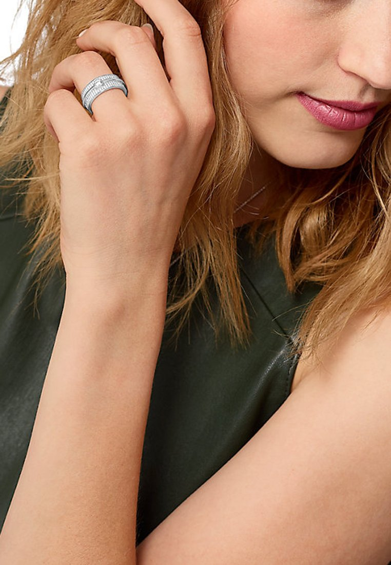 JETTE - JETTE - Ring - silver-coloured
