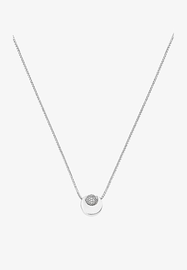 Necklace - silver coloured