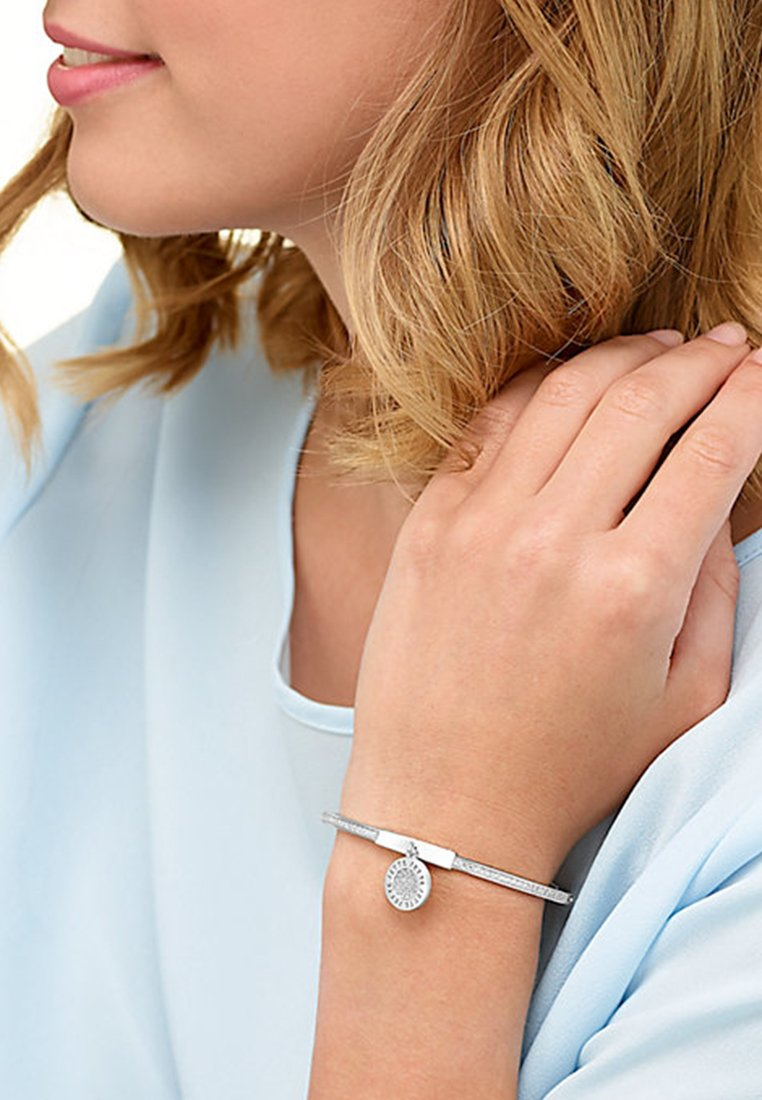 JETTE - Armband - silver coloured