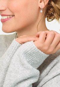 JETTE - Earrings - silver coloured - 0