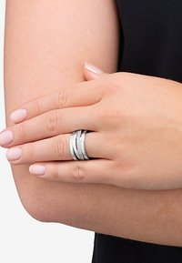JETTE - Ring - silver coloured - 0