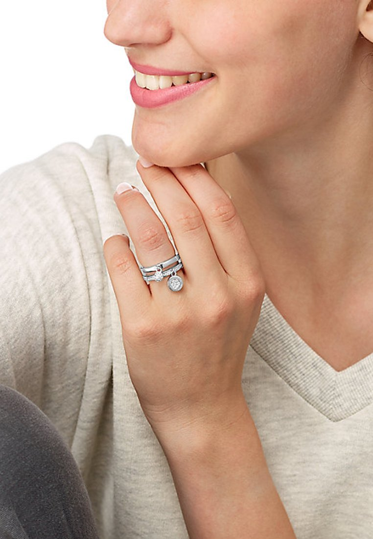 JETTE - Ring - silver-coloured