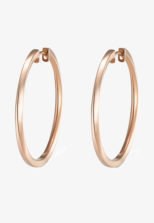 Earrings - rose gold-coloured