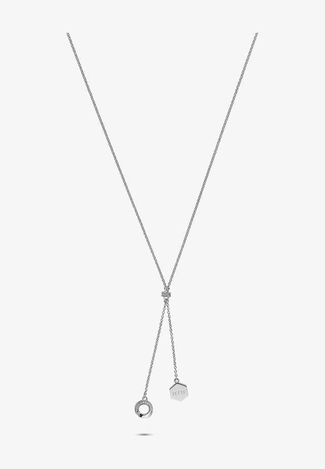 CONNECTION - Necklace - silver-coloured
