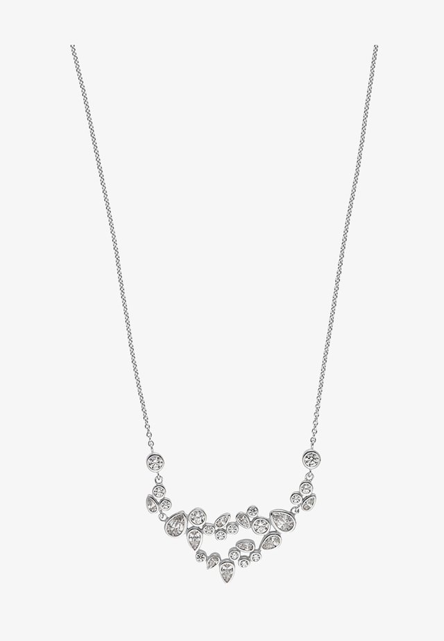 Necklace - silver-colored