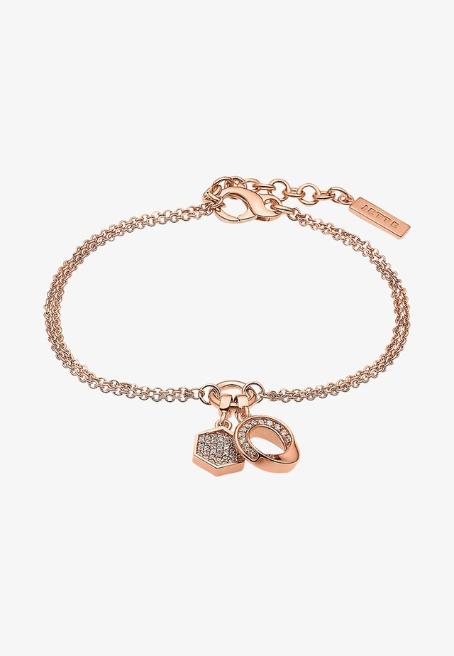 CONNECTION - Armband - rosé gold-colored