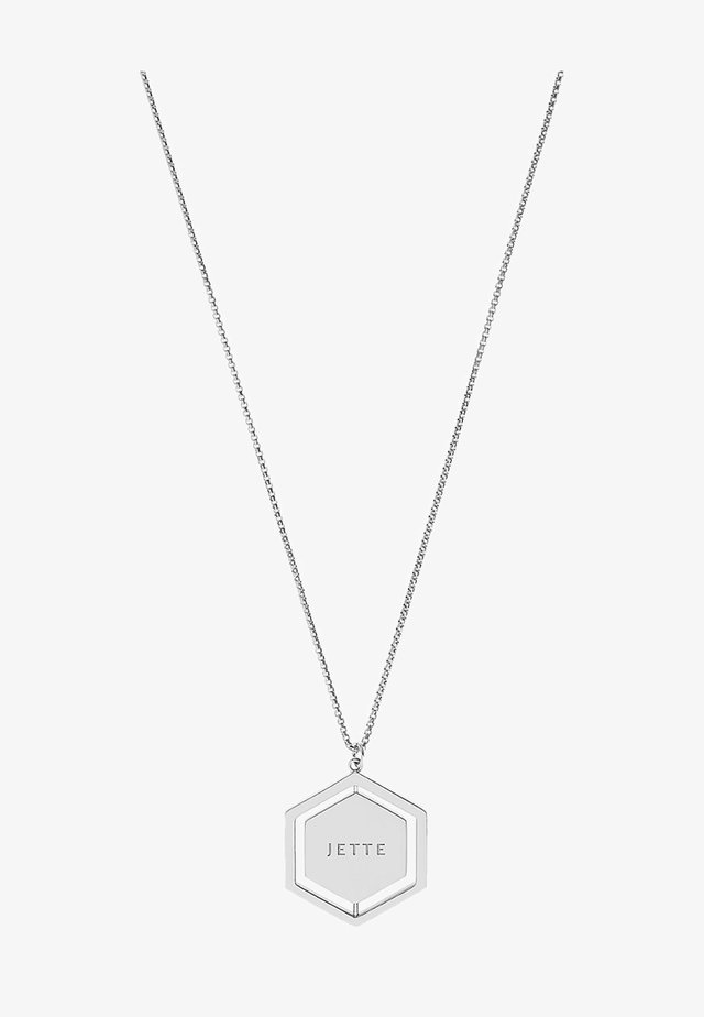 WINTERS - Necklace - silver-coloured