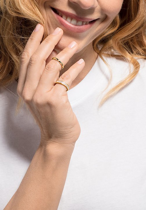 JETTE - Ring - gold