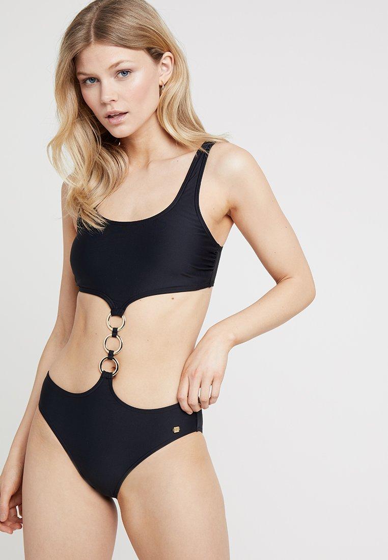 JETTE - MONOKINI - Swimsuit - black