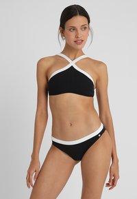 JETTE - BUSTIER SET - Bikini - black - 0