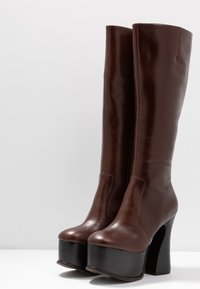Jeffrey Campbell - COIL - High Heel Stiefel - coffee - 4