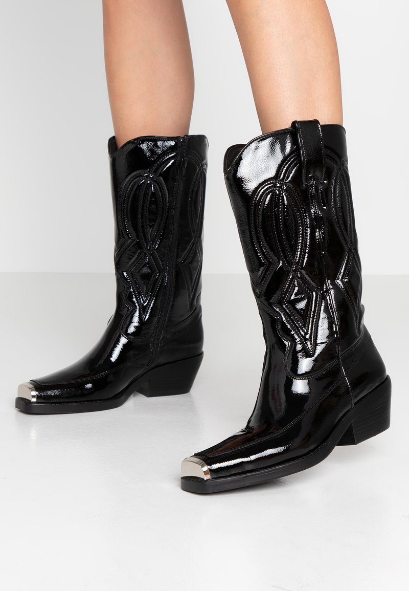 Jeffrey Campbell - EAGLES - Cowboy/Biker boots - black