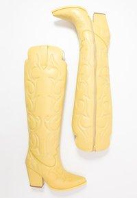 Jeffrey Campbell - AMIGOS - Korolliset saappaat - yellow - 3