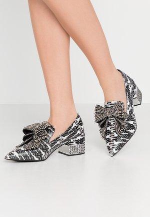VALENSIA - Classic heels - black/grey