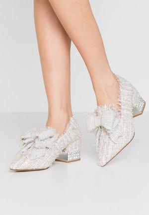VALENSIA - Classic heels - white