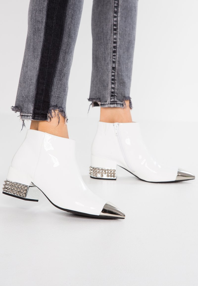 Jeffrey Campbell - ROYAL - Ankle Boot - white