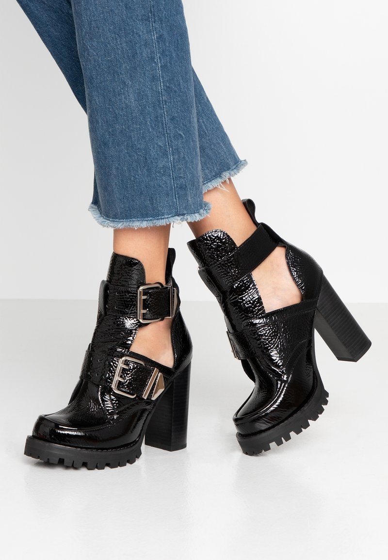 Jeffrey Campbell - CRAVEN - High heeled ankle boots - black