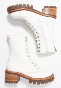 Jeffrey Campbell - SYCAM - Platform ankle boots - white/natural - 3