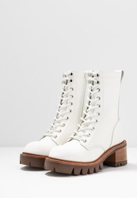 Jeffrey Campbell - SYCAM - Platform ankle boots - white/natural - 4