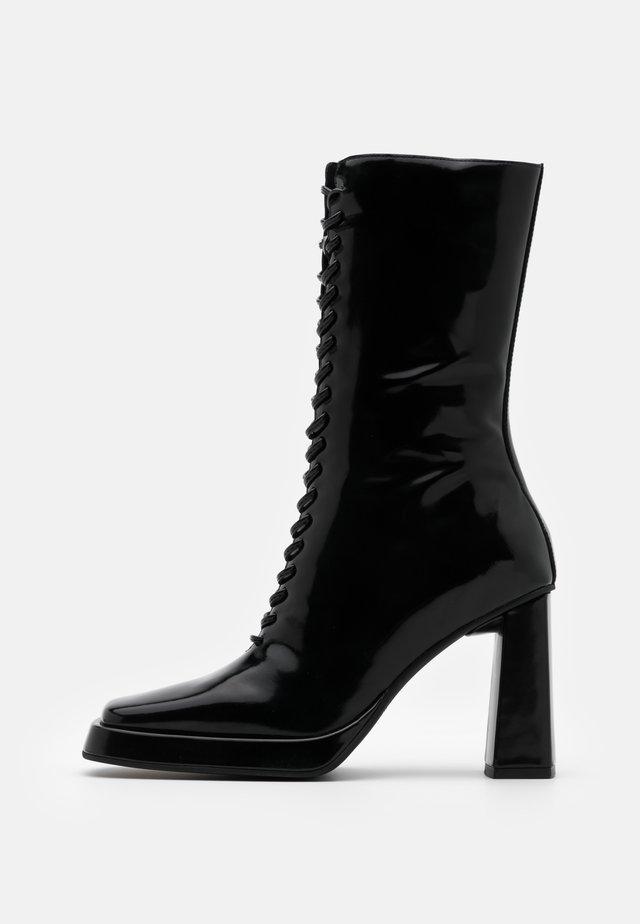 TESTINO - High heeled boots - black box