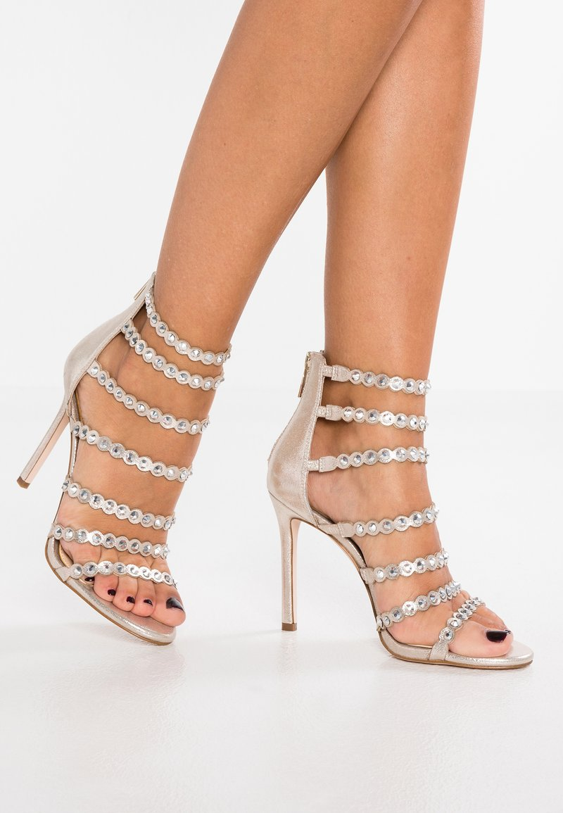 Jessica Simpson - JEZALYNN - High heeled sandals - gilded gold shimmer
