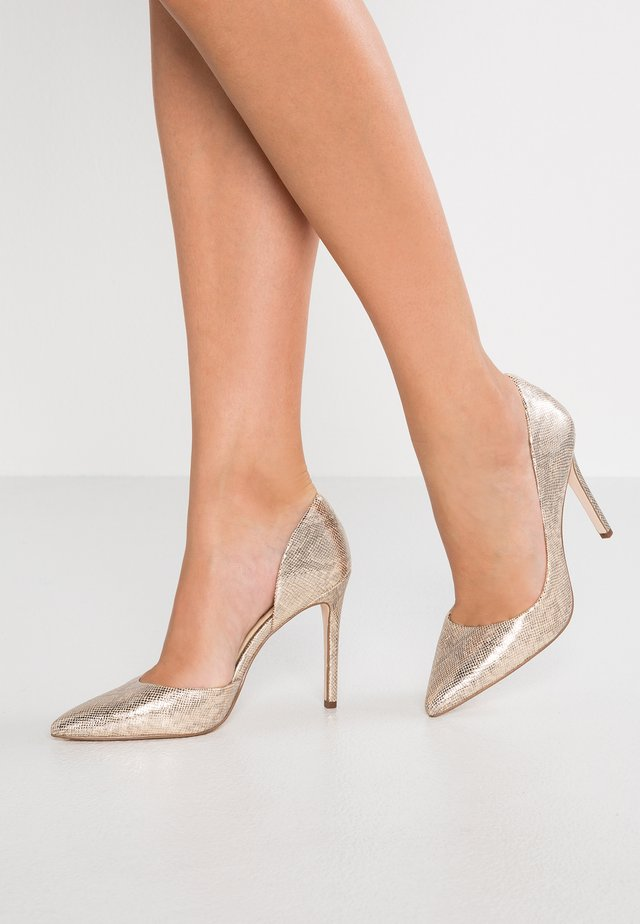 PRIZMA - High heels - karat goldgolden