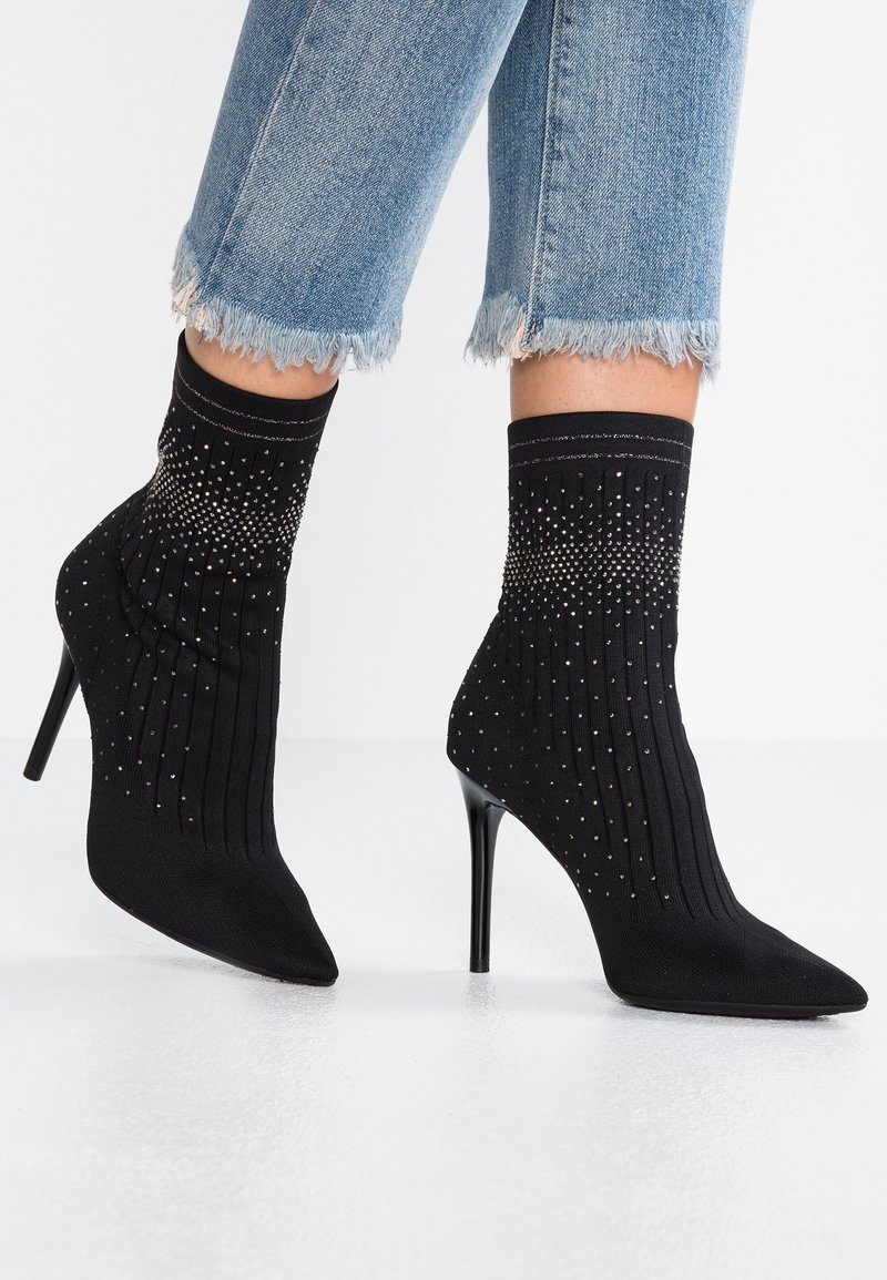 Jessica Simpson - LYTONA - High heeled ankle boots - black