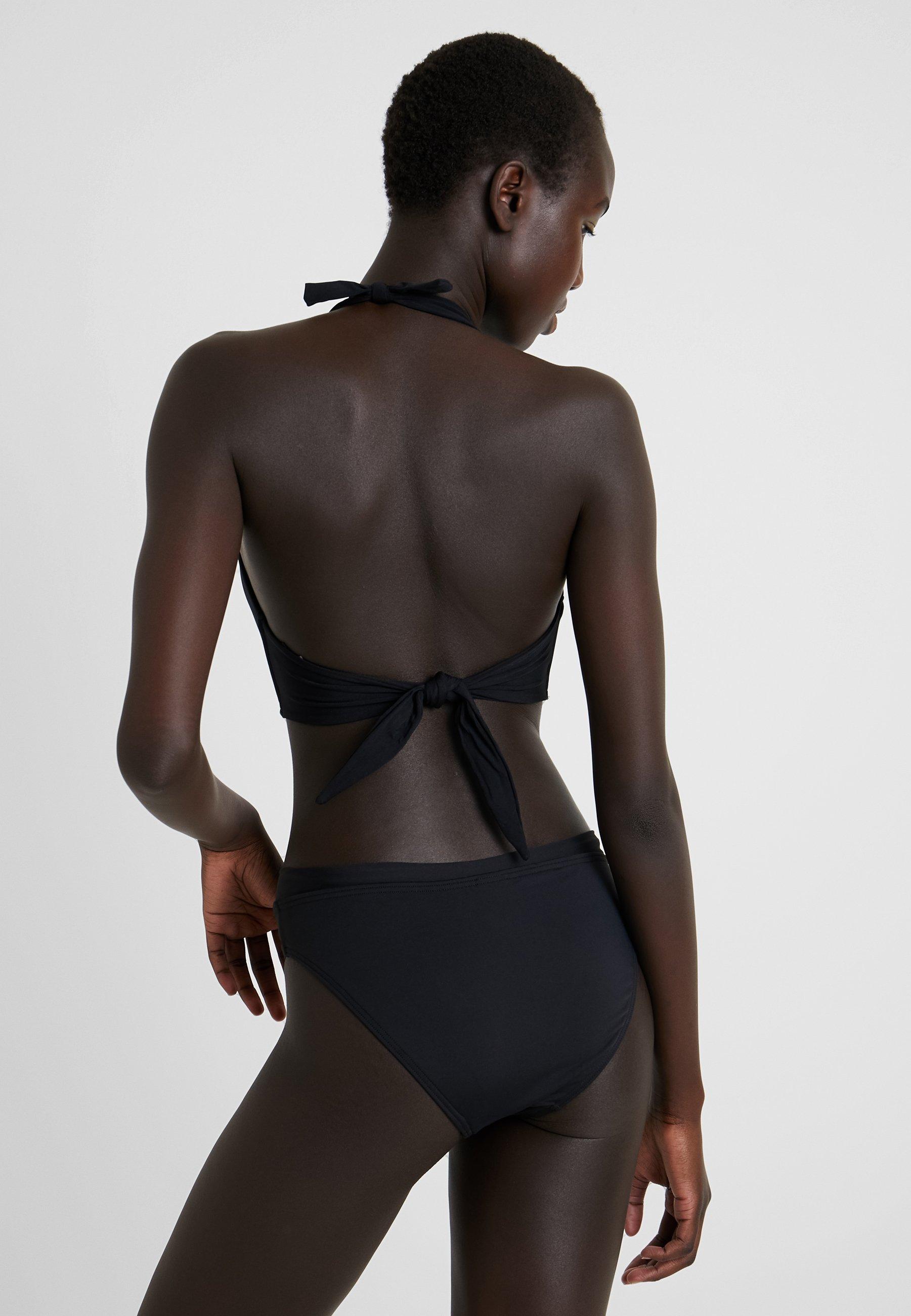 Jets By Jessika Allen Twist Halter - Bikiniöverdel Black