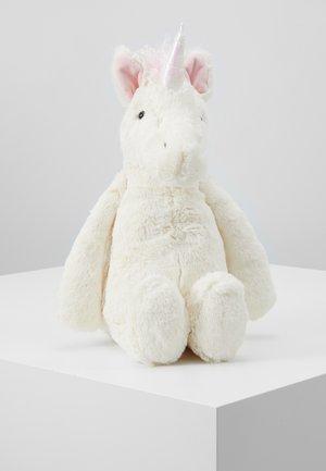 BASHFUL UNICORN - Cuddly toy - white