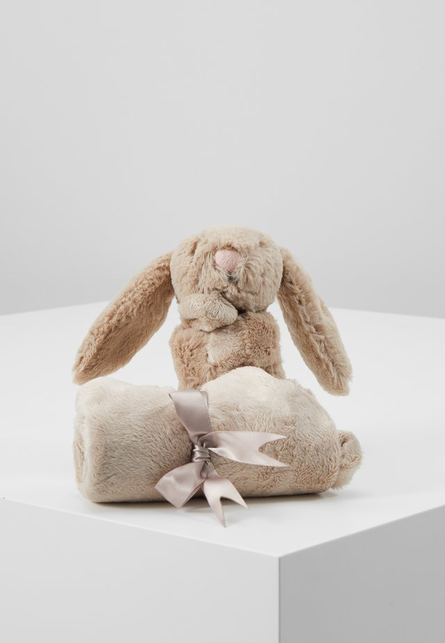 BASHFUL BUNNY SOOTHER - Cuddly toy - beige